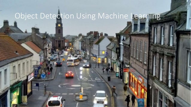 Object Detection Using Machine Learning