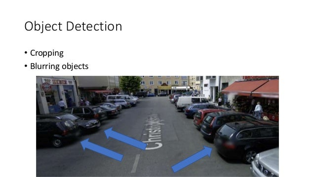 Object Detection • Cropping • Blurring objects