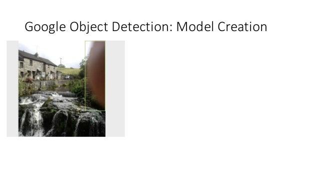 Google Object Detection: Model Creation