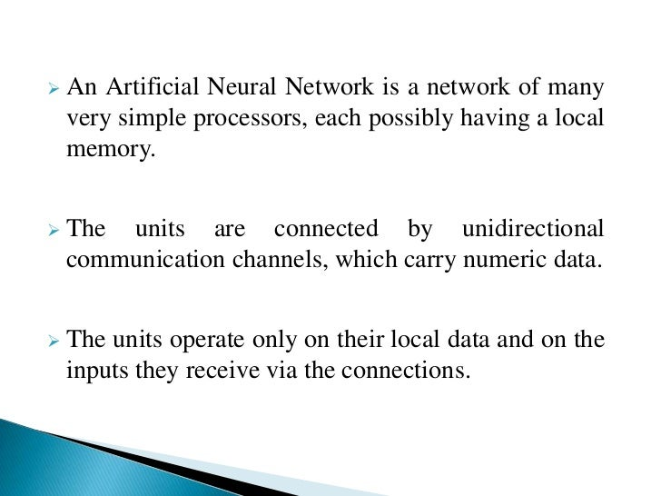 paper presentation on artificial intelligence and neural networks International journal of artificial intelligence & applications (ijaia), vol2, no3, july 2011  96 design and analog vlsi implementation of artificial neural network prof bapuraydyammenavar 1, vadirajrgurunaik 2,  in this paper we are making use of artificial neural network to demonstrate the way in which the biological system.