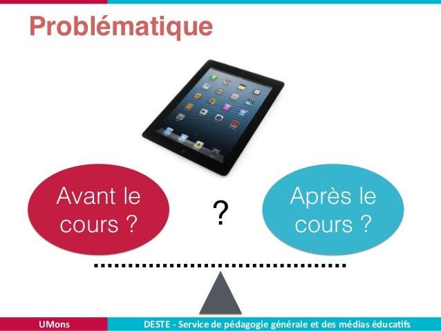 Effets de deux modalités d'intégration d'un livre numérique dans un cours universitaire Slide 3