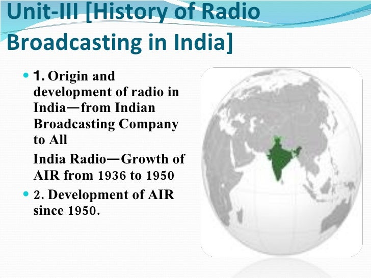 new zealand broadcasting and radio history essay Overview of developments in broadcasting in south africa since 1994 a) community radio d) this has resulted in 3 new sound broadcasting services being.