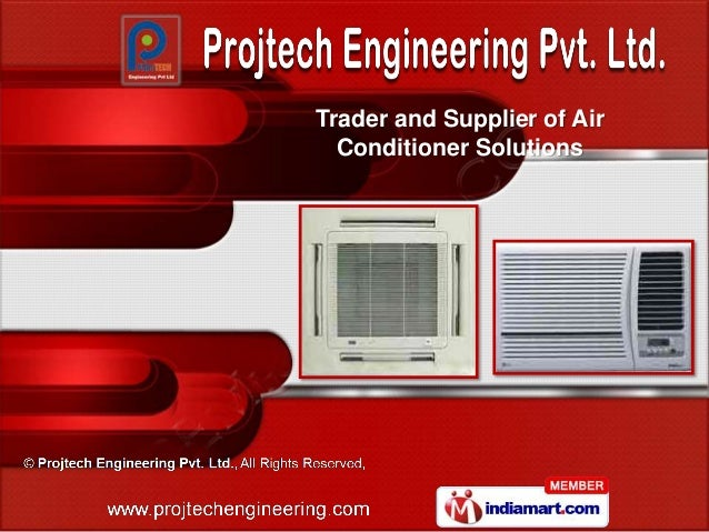 Trader and Supplier of Air  Conditioner Solutions