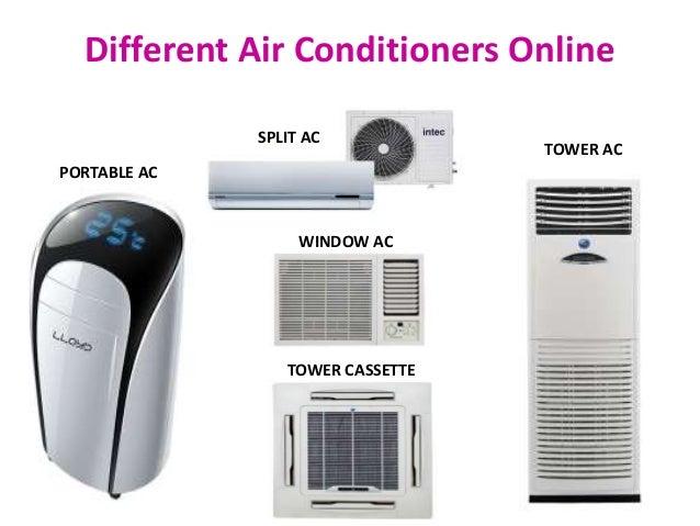 Air Conditioners Online Ganesham Ppt