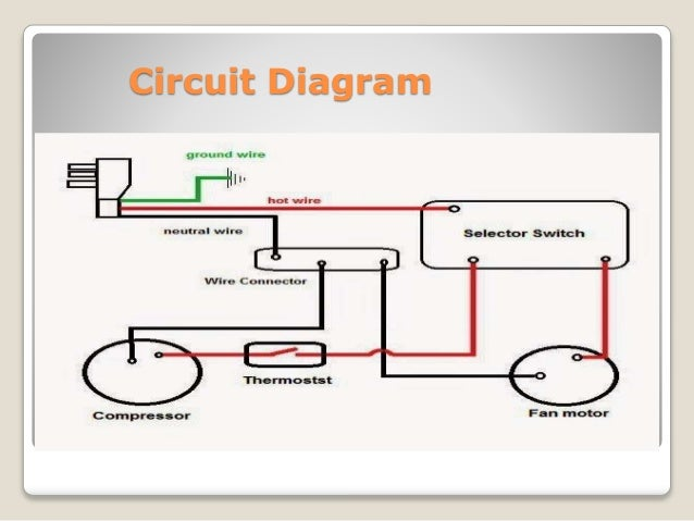 air conditioning system ppt rh slideshare net circuit diagram parts circuit diagram preselector