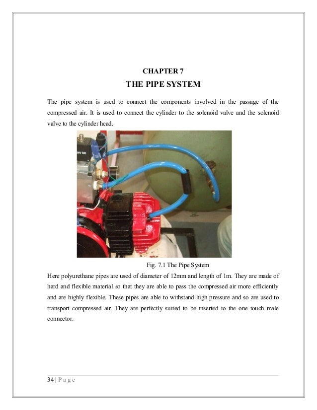 air driven engine project report Heavy-duty vehicle diesel engine efficiency evaluation and energy air compressor on using a thermodynamic approach to project fuel consumption of future engine.