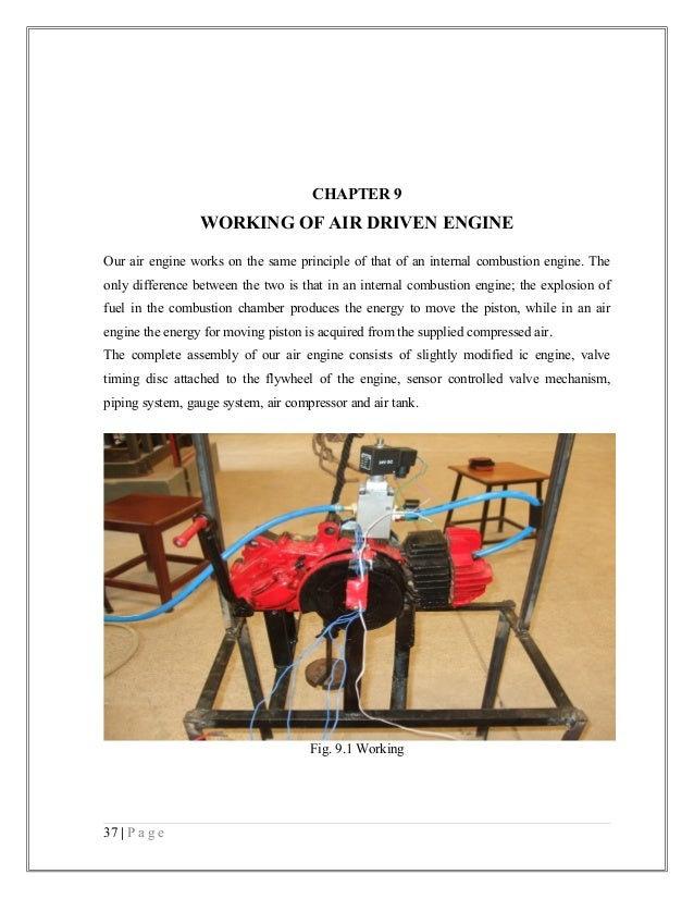 mechanical engineering final year project report pdf