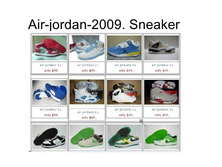 Air-jordan-2009. Sneaker