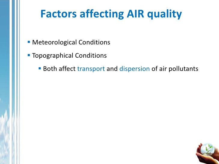 factors that contributed to air pollution Years of life lost (dalys3) overall, air pollution contributed to nearly 11 million  deaths in  air pollution among the major risk factors in india.