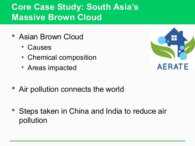 Air pollution case study china
