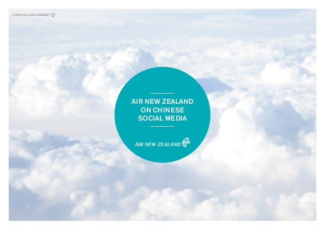AIR NEW ZEALAND ON CHINESE SOCIAL MEDIA