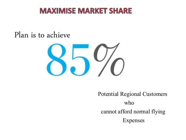 pricing strategy adopted by regional airline A business can use a variety of pricing strategies when selling a product or  service the price can be set to maximize profitability for each unit sold or from  the market overall it can be used to defend an existing market from new entrants,  to increase  the airline industry is often cited as a dynamic pricing success  story.
