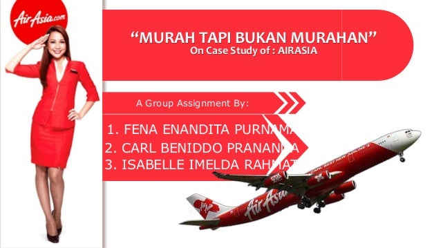 airasia assignment Airasia sdn bhd established in 1993 and started operations on 18 november 1996 it is the first airline industry in asia that implements e-ticketing and also the pioneer of budget airline in asia (airasiacom, 2013.