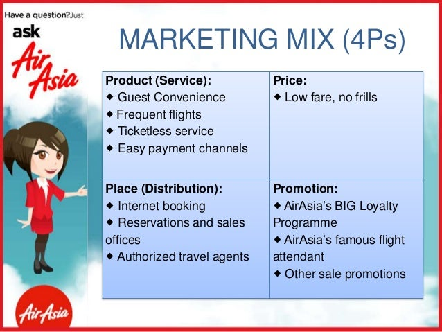 air asia product pricing