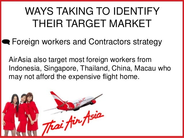 air asia analysis Thai air asia limited section 1: company background in the past, domestic air routes were limited to only few players such as thai airways, ban.