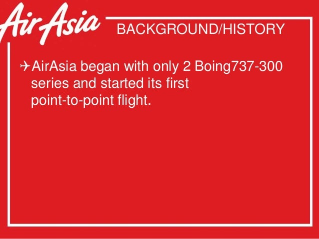 thai airasia swot Airasia x was initially known as fly asian xpress (fax) when it started operations in 2006, servicing rural areas of sarawak and sabah with turboprop aircraft, before rebranding was done in september 2007 and its first flight was launched to.