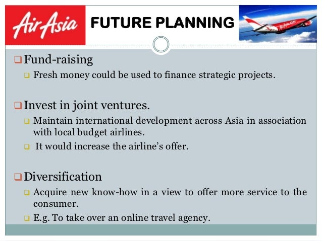 business strategy of airasia Business-level strategy of air asia introduction: aviation, an industry where it is full of fluctuations, has always been affected by various factors.