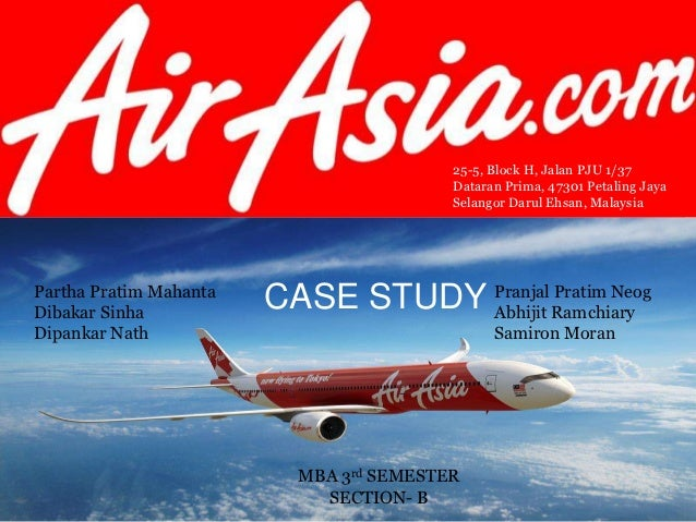 Case Study on AirAsia | Case Study Template
