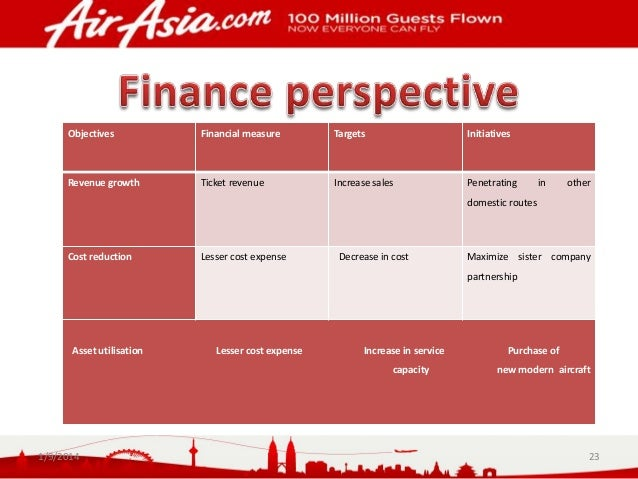 airasia financial strategy We will write a custom essay sample on airasia financial analysis specifically for you  to achieve its strategic mission and vision and also to sustain in the .