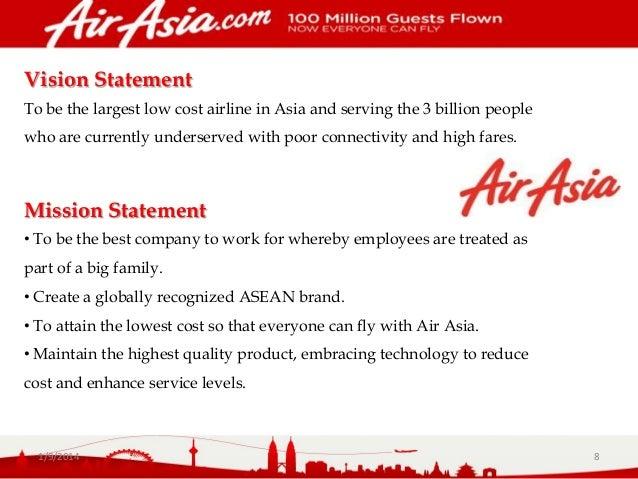 Air asia essay summary