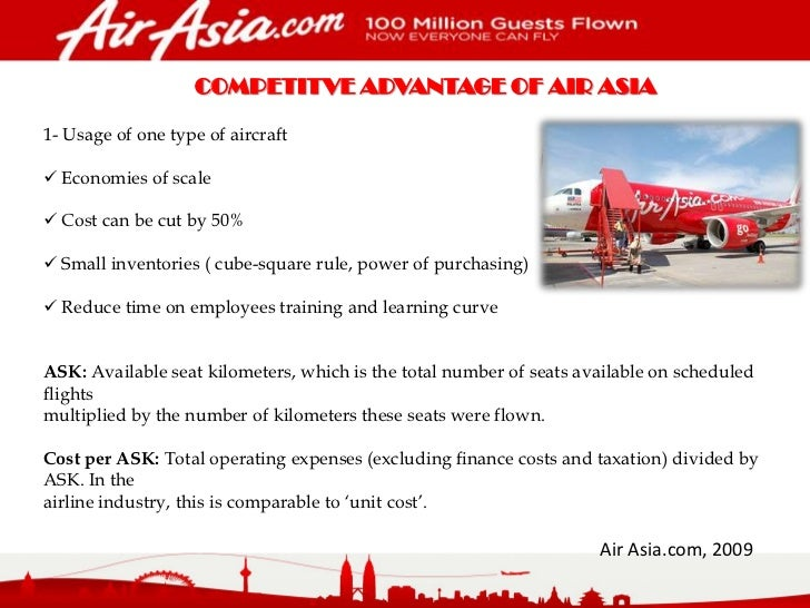 cost leadership strategy airline industry