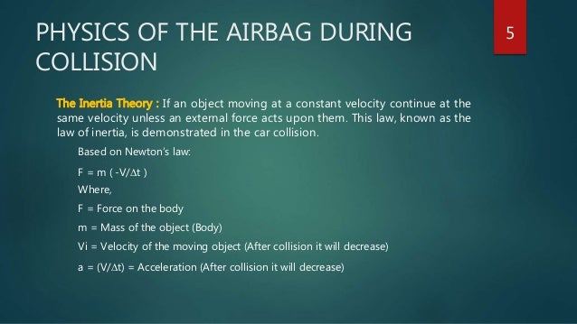 Air Bags Used in Automobiles