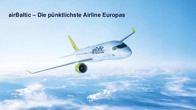 airBaltic – Die pünktlichste Airline Europas