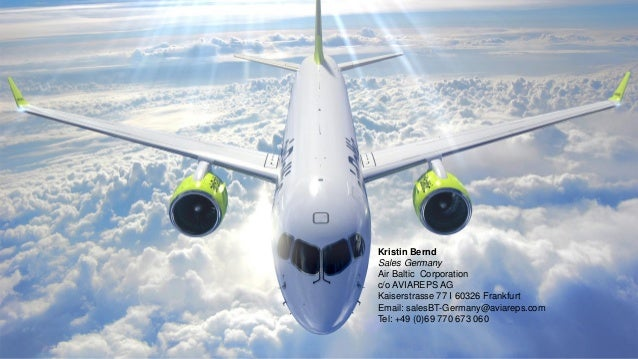 airBaltic - MICE Presentation 2019