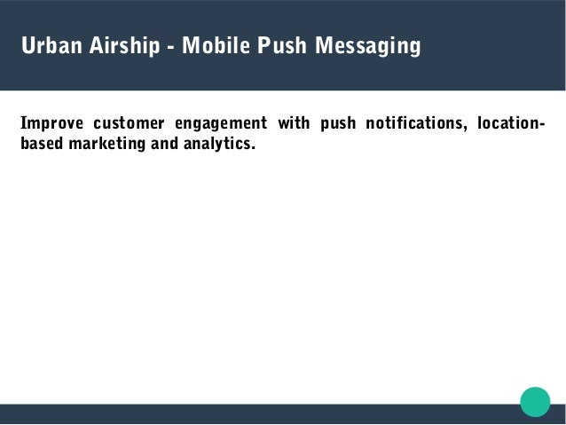  The push notifications services enables international users to receive notifications regardless of their location or car...