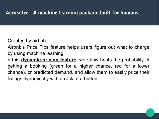Aerosolve - A machine learning package built for humans. Seasonal demand for Austin
