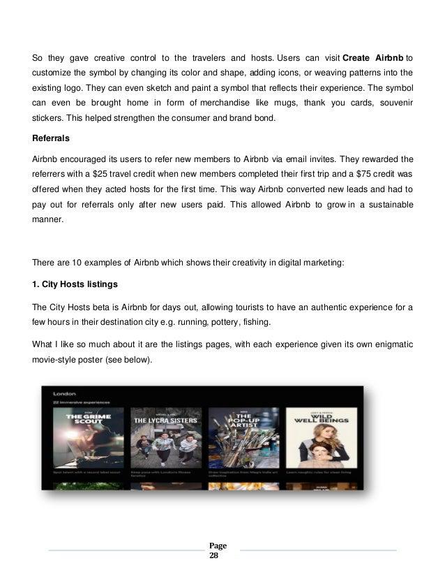 Airbnb digital marketing