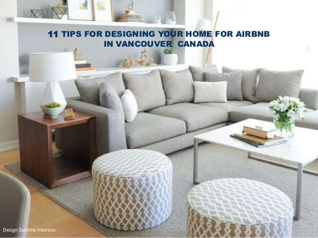 11 Tips For Designing Your Home For Airbnb In Vancouver Canada