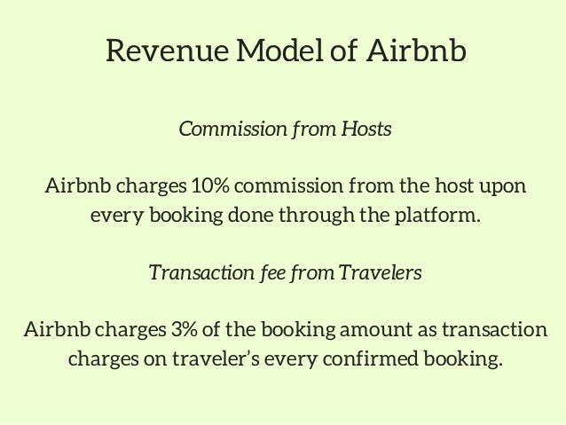 Technology stack behind the Airbnb business & revenue model