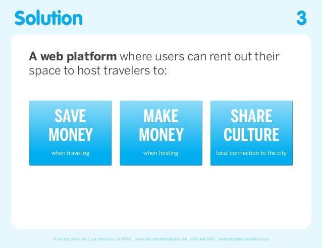 Airbnb Pitch Deck Slide 3
