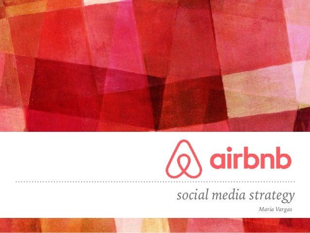 social media strategy Maria Vargas