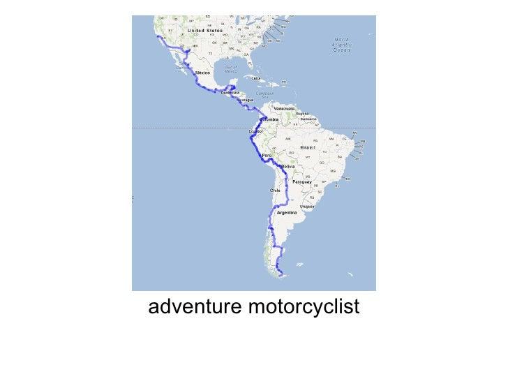 adventure motorcyclist
