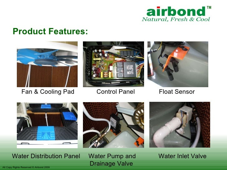 Airbond Out Door Air Cooler For Petrol Station
