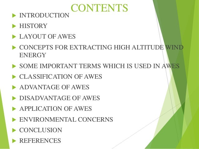 Airborne wind energy system ppt