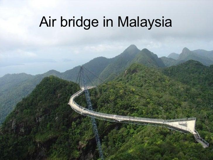 Air bridge in Malaysia