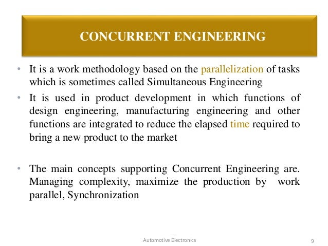 Concurrent Engineering Concept : Airbus concurrent engineering by jeevan b m