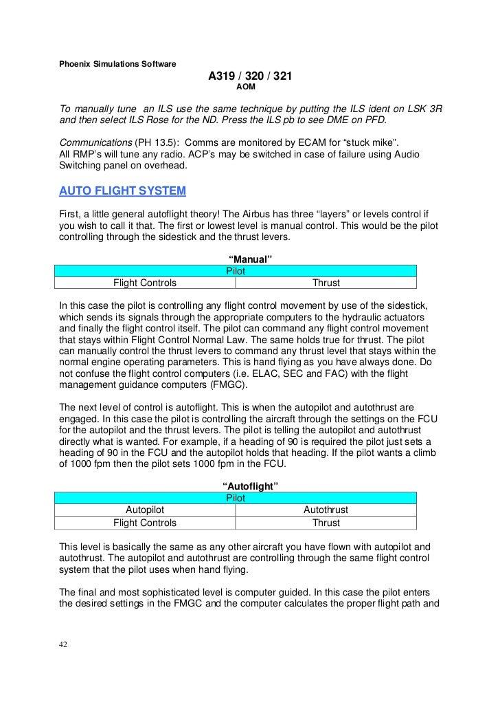 Flight Manual afm