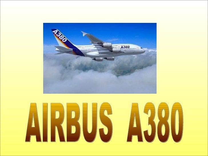 Airbus A380 Slide 1
