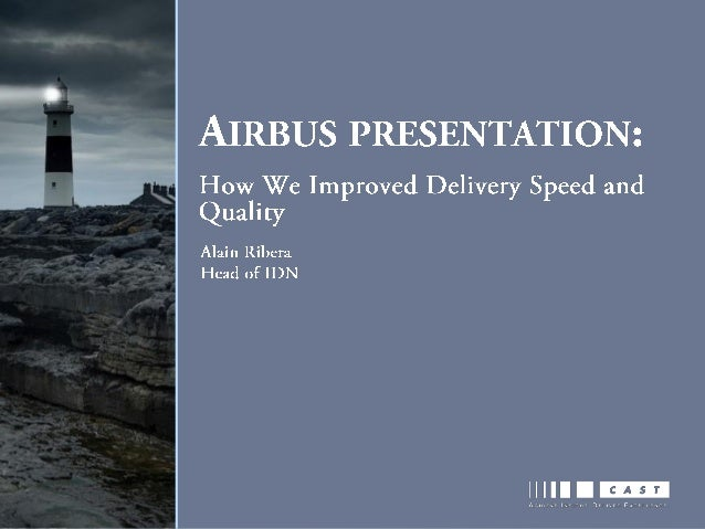 © AIRBUS Operations S.A.S. All rights reserved. Confidential and proprietary document. Introduction • IT organizations pla...