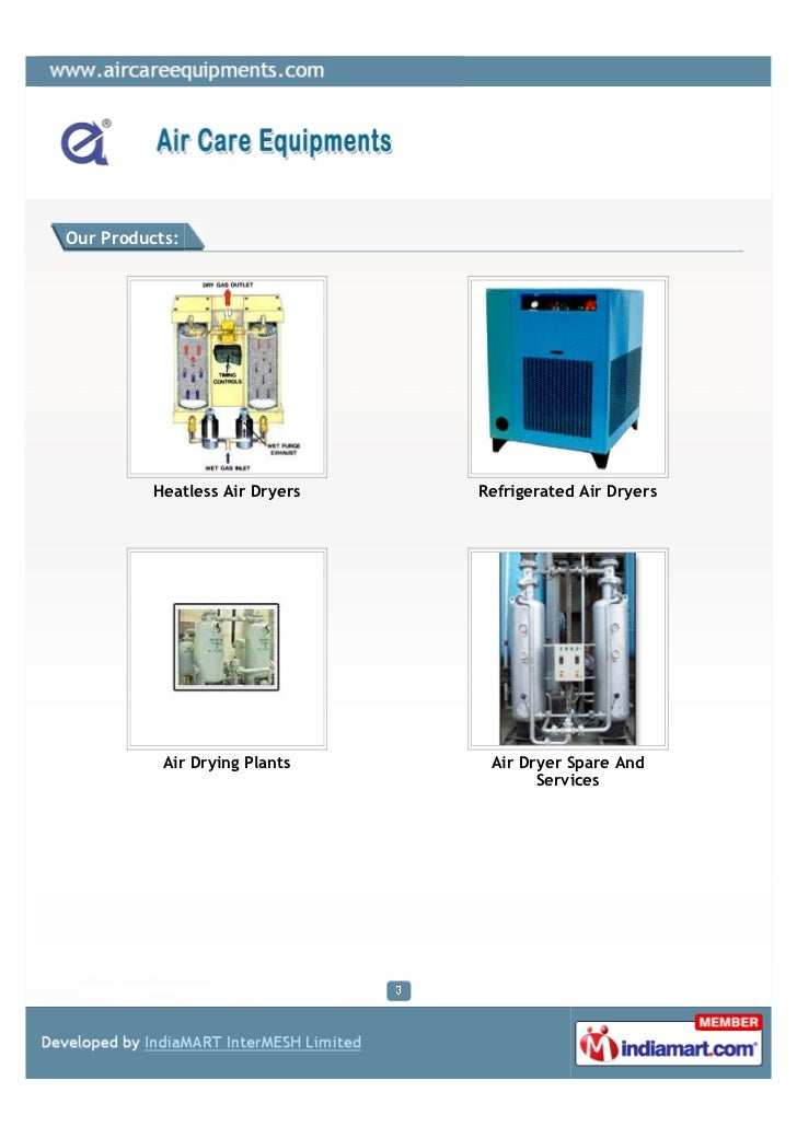 Air Care Equipments, Pune, Precision Industrial Equipments Slide 3