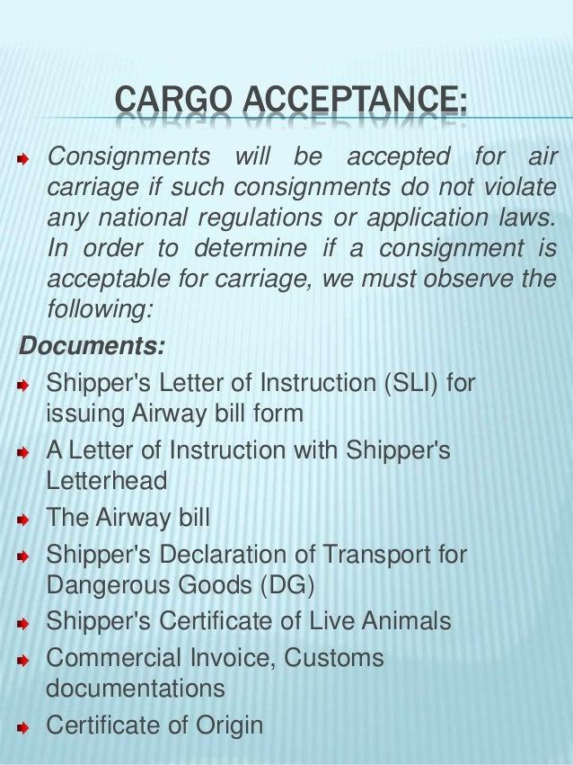 Air Cargo Management