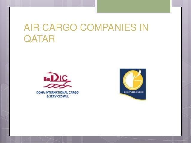 Air cargo services in qatar