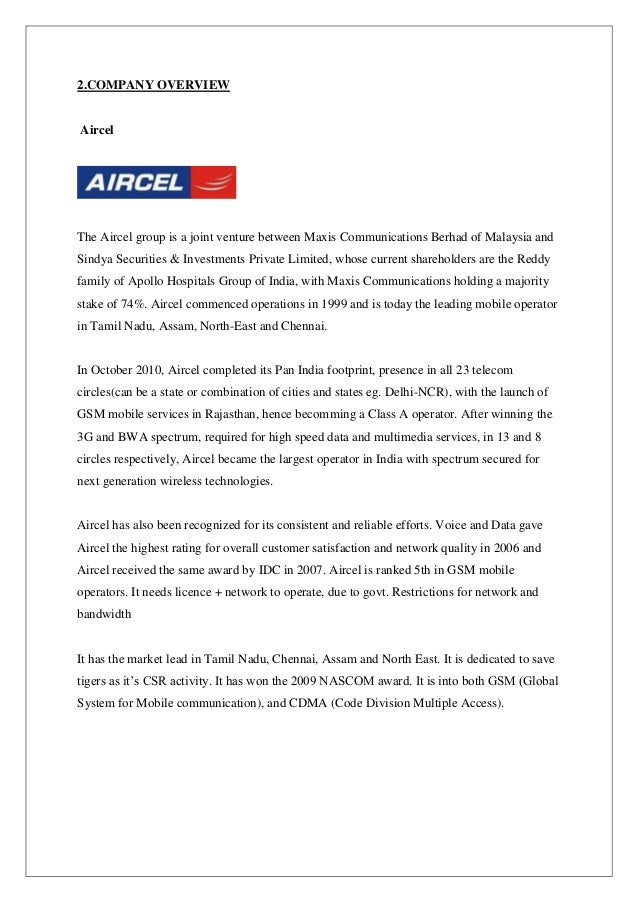 aircel project Trai directs aircel to give port out codes to all users as telco files for bankruptcy aircel had tried to presents result for pilot project april 6, 2018 on altbalaji's deal for syndicating content to airtel tv april 3.