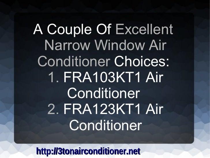 Air Conditioner For Horizontal Sliding Windows