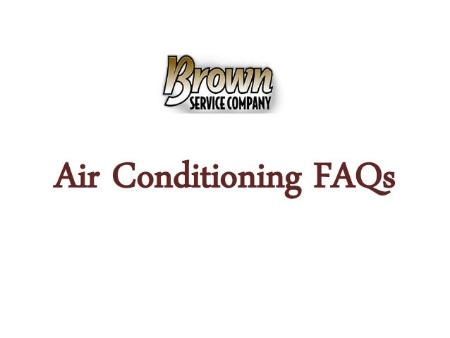 Air Conditioning FAQs