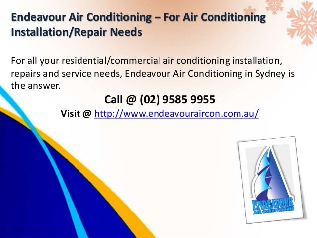 When to Call Air Conditioning Repair Experts in Sydney
